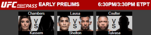 ufc fight night 121 early prelims