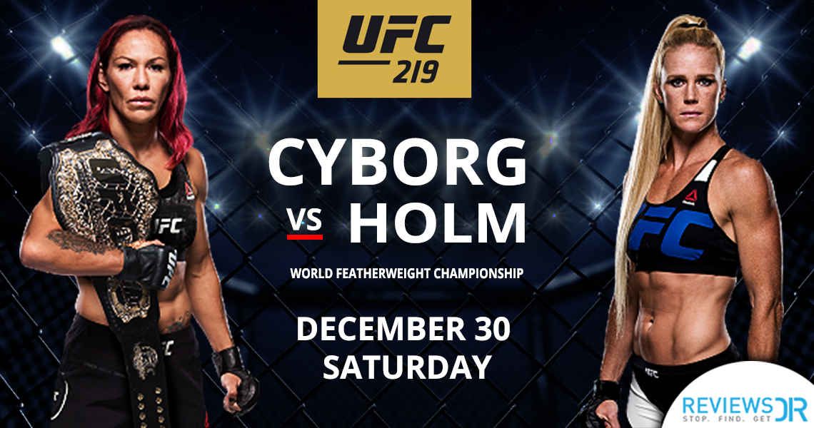 Cyborg VS Holm Live Online