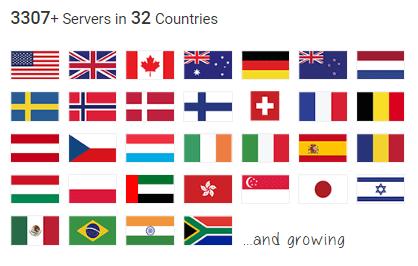 Private Internet Access VPN Servers