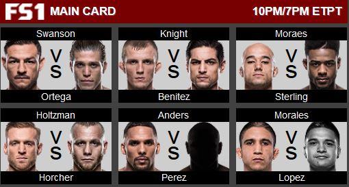 UFC 123 Main Card