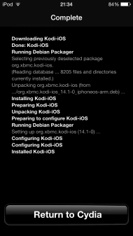 how to install kodi on ipad