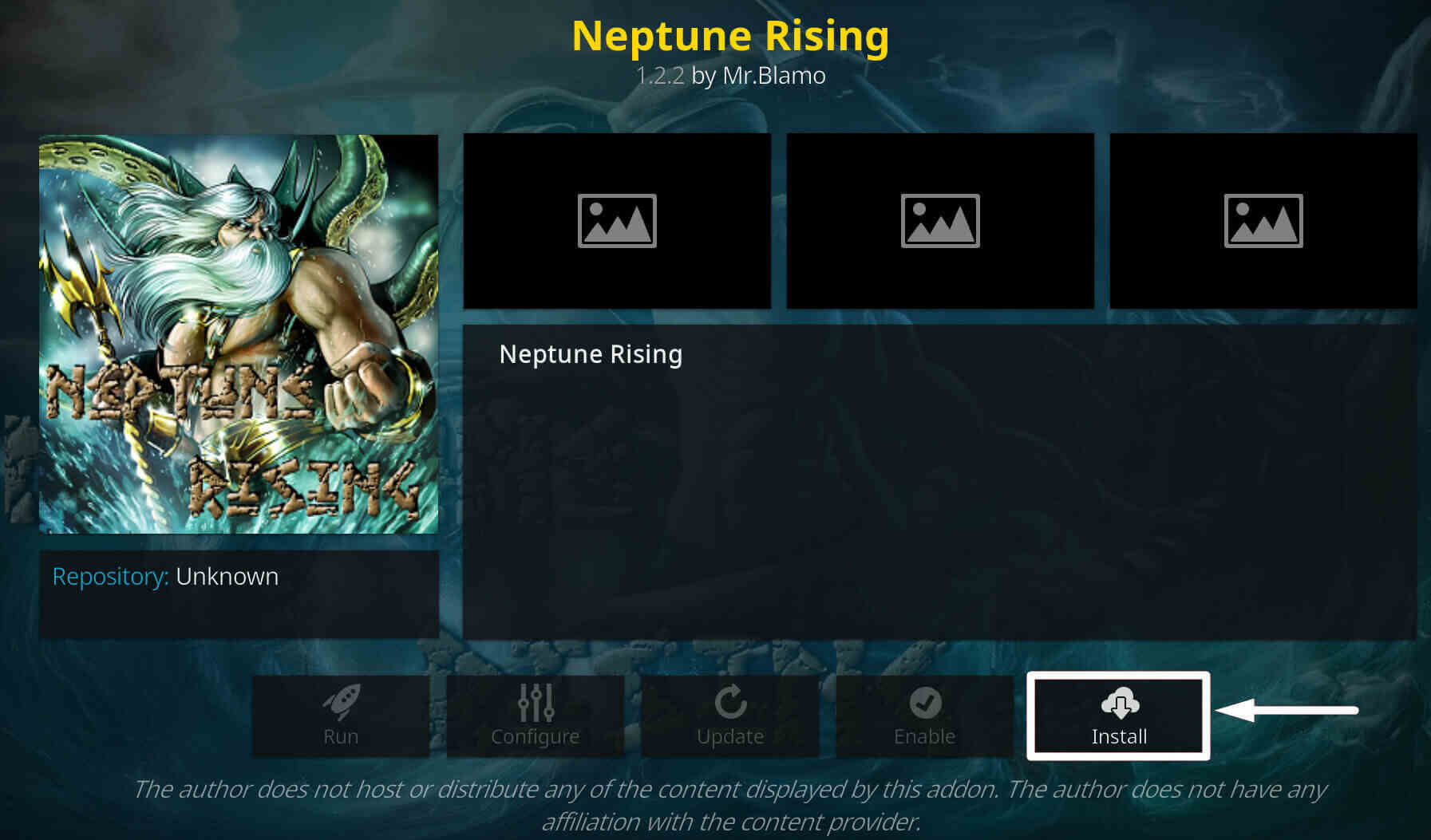 Install Install Neptune Rising on Kodi step 8