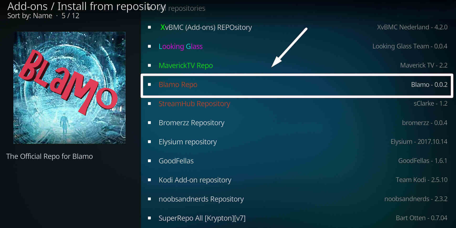 Install Install Neptune Rising on Kodi step 5