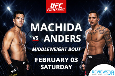 Machida Vs Anders Live Online