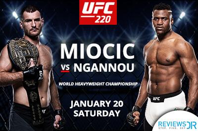 UFC 220 Miocic VS Ngannou 2