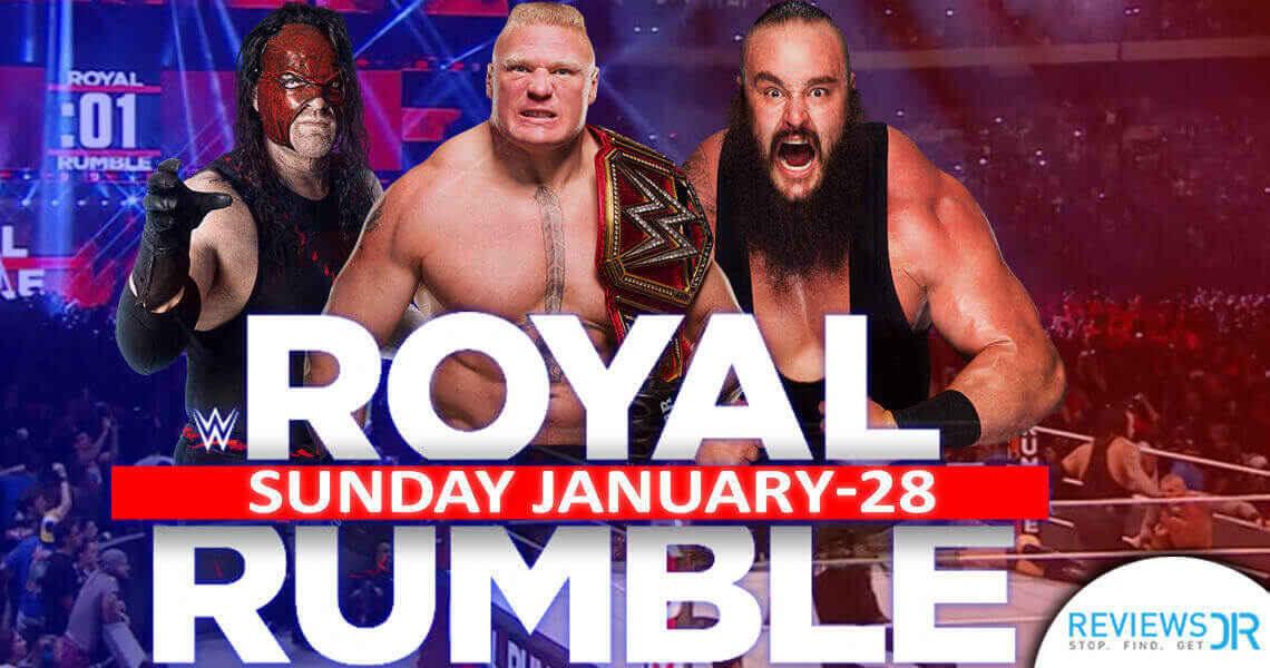 2018 WWE Royal Rumble live on Kodi