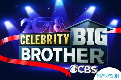 2018 Celebrity Big Brother on CBS banner - ReviewsDir