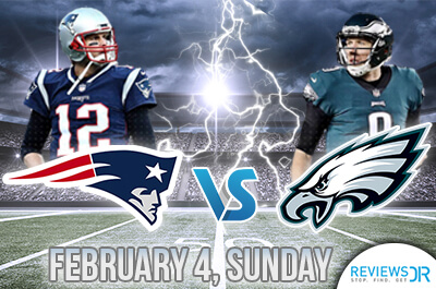 2018 Super Bowl- Eagles vs Patriots live online