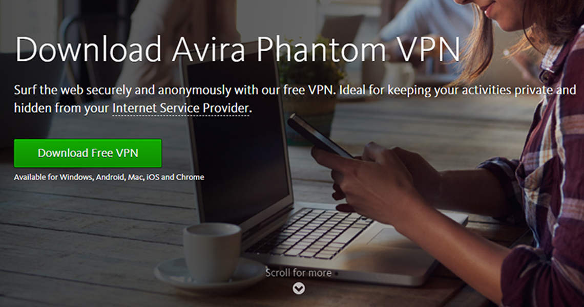 Avira Phantom Free Windows VPN