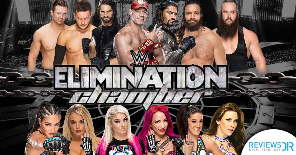 Elimination Chamber 2018 Live Online