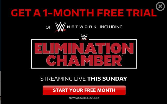 Elimination Chamber Match Card