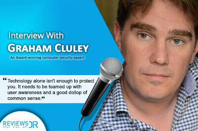 Graham Cluley Interview- ReviewsDir