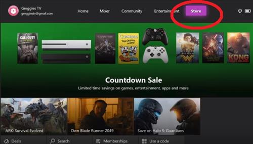 Kodi On Xbox One- Step 1