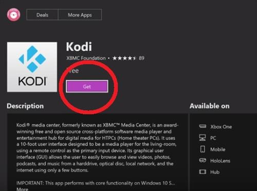 Kodi On Xbox One- Step 4