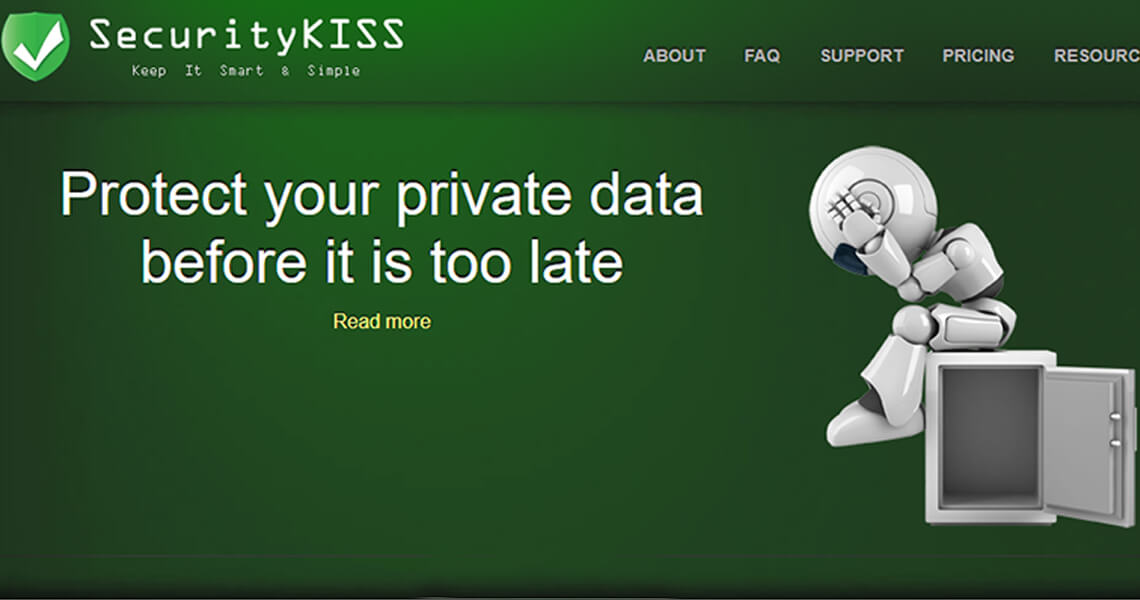 SecurityKiss Free VPN for Windows