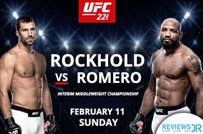 UFC 221 online