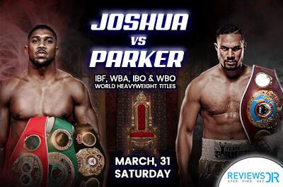 Joshua vs. Parker Live Online