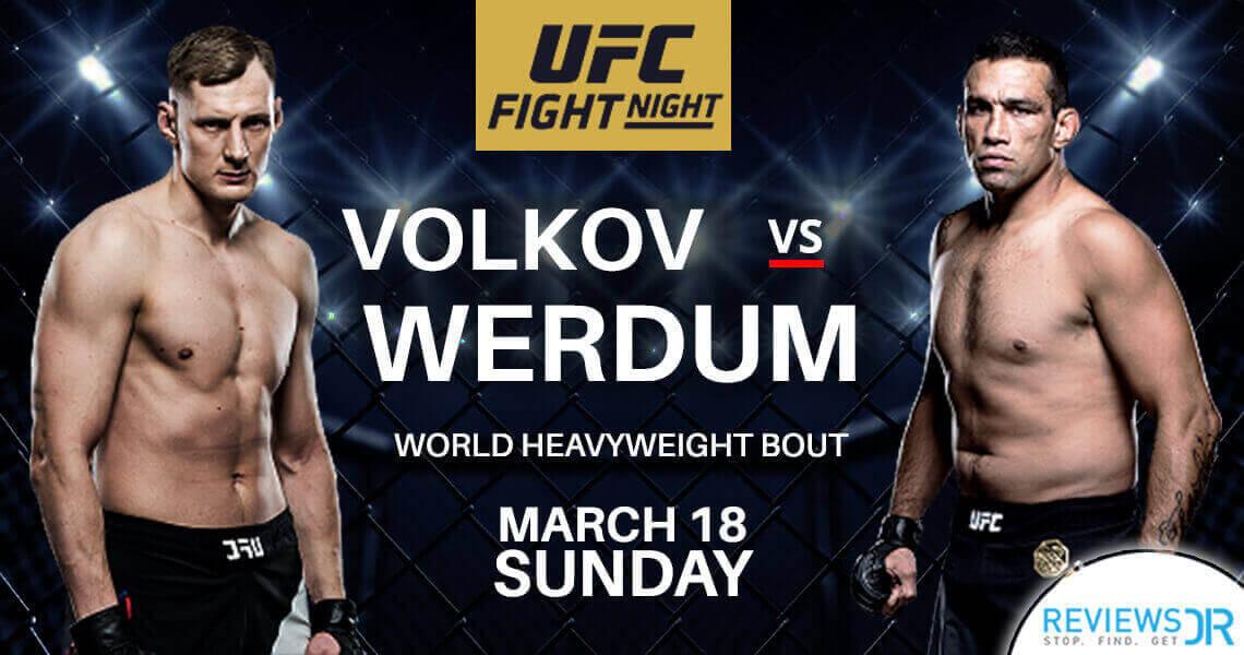 Werdum vs. Volkov Live Online