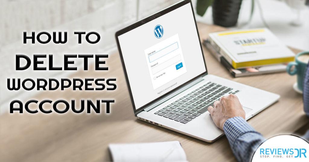 Delete WordPress Account