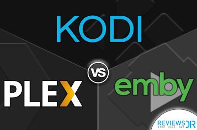 Kodi vs Plex vs Emby