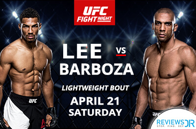 Lee vs. Barboza Live Online