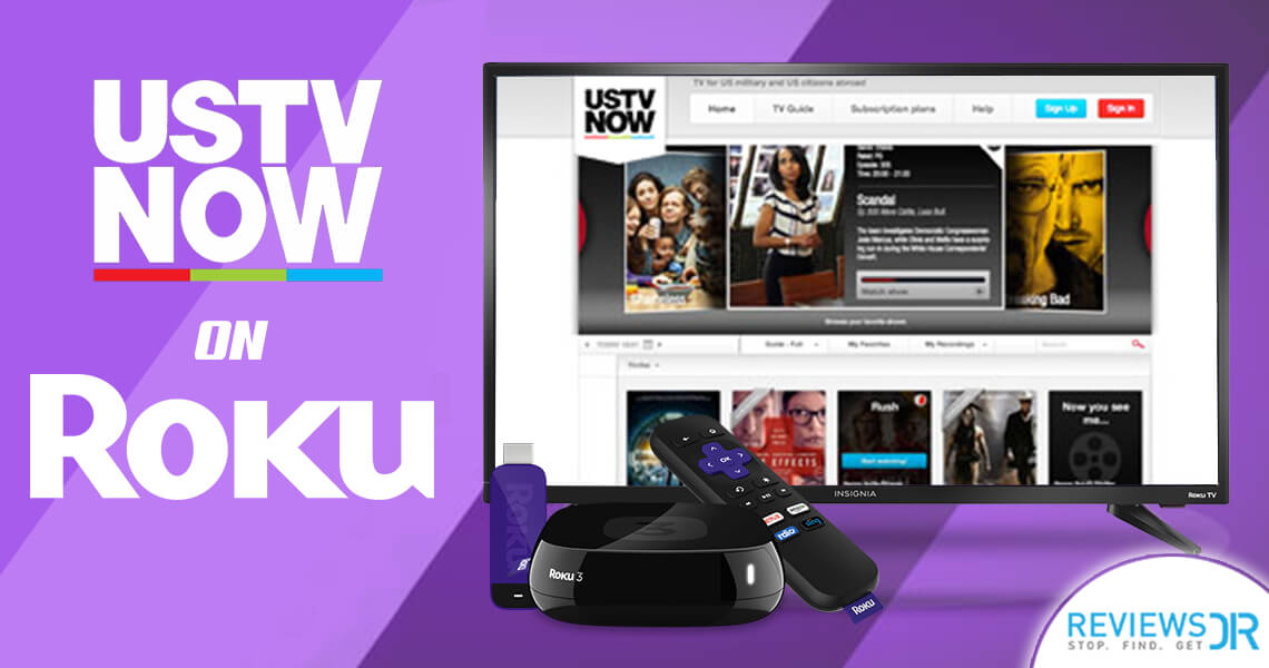 USTVNow on Roku Streaming Player