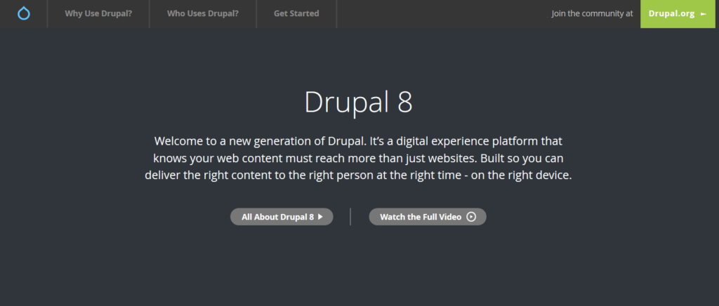 drupal alternative to wordpress