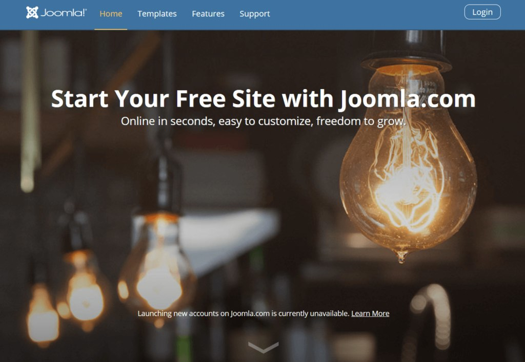 joomla alternative to wordpress