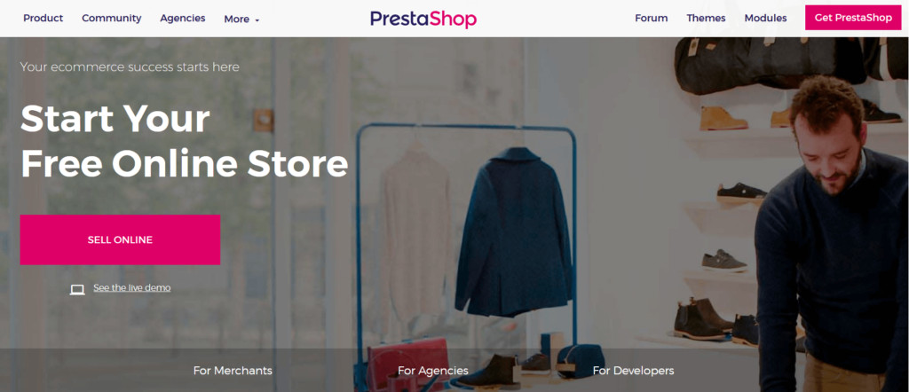 prestashop wordpress competitor