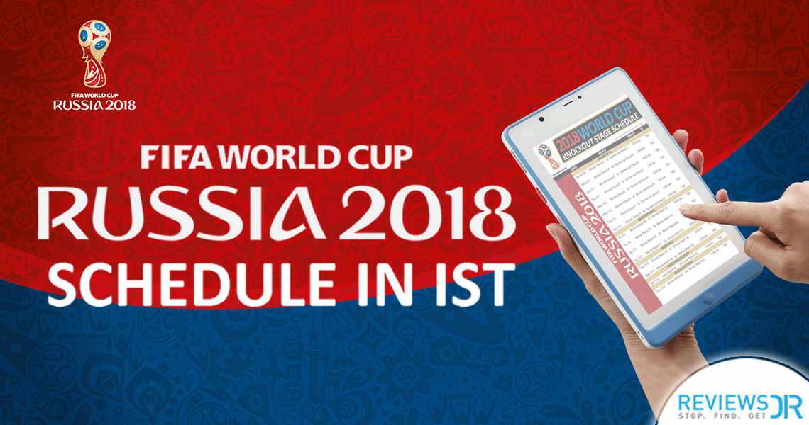 FIFA Schedule 2018