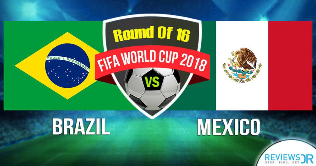 Brazil vs Mexico Live Online