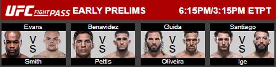 UFC 225 Prelims