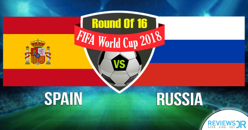 Spain vs. Russia Live Online