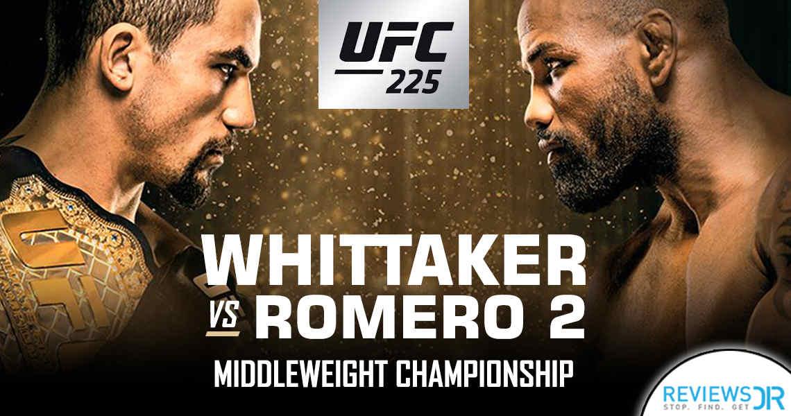 UFC 225 Whittaker vs Romero Live Online