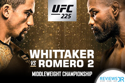 UFC 225 Whittaker vs Romero Live Streaming