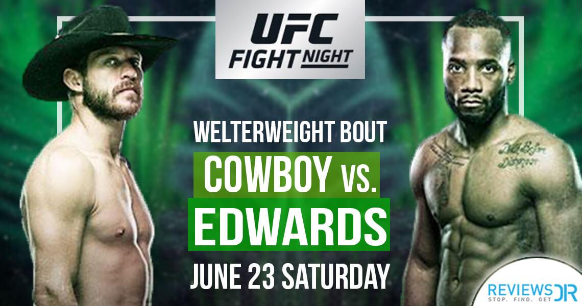 UFC Fight Night Cowboy vs. Edwards Live Online