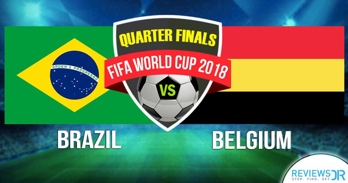 Brazil vs Belgium Live Online