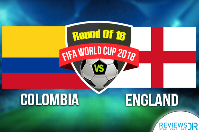 Colombia vs England Live Streaming