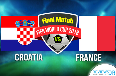 Croatia vs. France Live Streaming