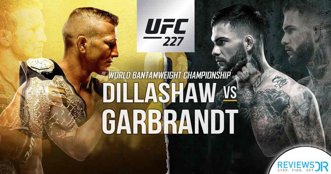 Dillashaw vs. Garbrandt 2 Live Online