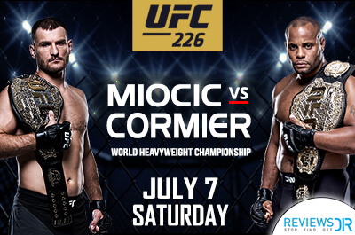 Miocic vs Cormier Live Streaming