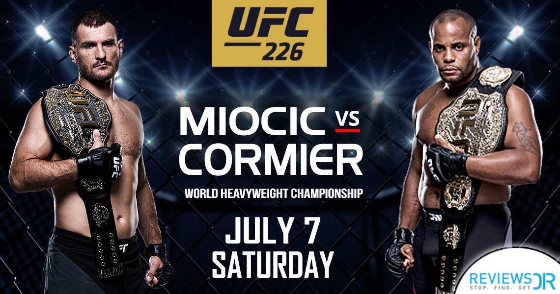 Miocic vs Cormier Live Online