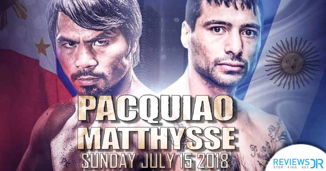 Pacquiao vs Matthysse Live Online
