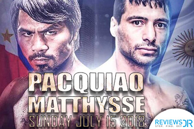 Pacquiao vs Matthysse Live Streaming