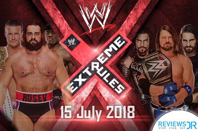 WWE Extreme Rules Live Streaming
