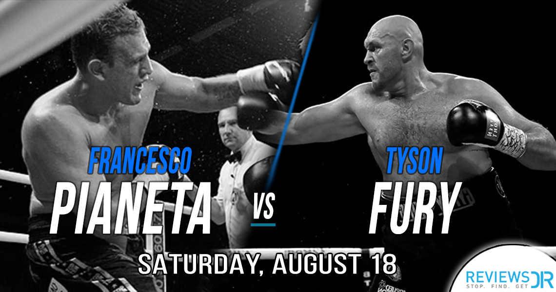 Fury vs Pianeta Live Online