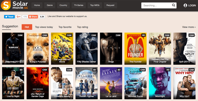 Watch Solar Movies Online