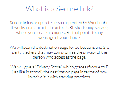Windscribe VPN Securelink