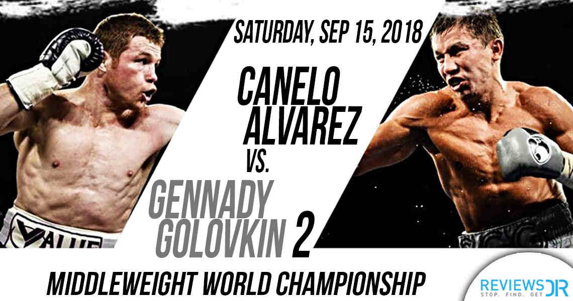Canelo Álvarez vs. Gennady Golovkin 2 live online
