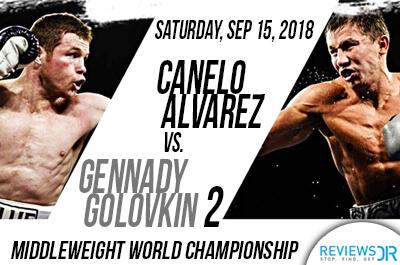Canelo Álvarez vs. Gennady Golovkin 2 live streaming